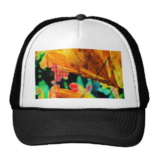 Abstract Lillies Hat