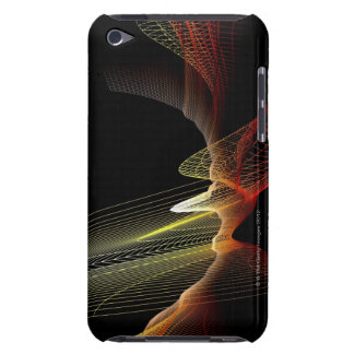 Abstract Line Barely There iPod Case