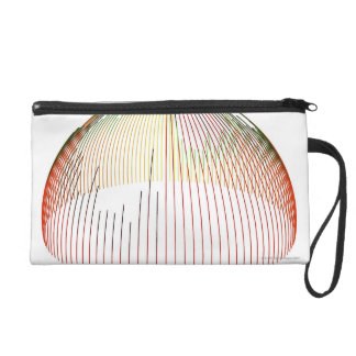 Abstract Lines 2 Wristlet