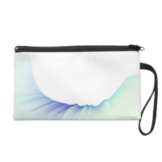 Abstract Lines 3 Wristlet