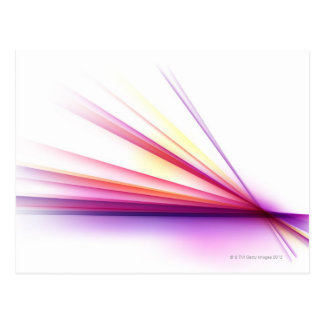 Abstract Lines 6 Postcard