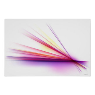 Abstract Lines 6 Poster