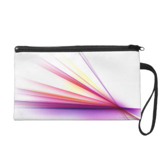 Abstract Lines 6 Wristlet Purse