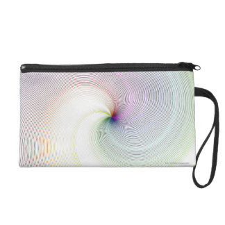 Abstract Lines 8 Wristlet