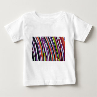 abstract lines background baby T-Shirt