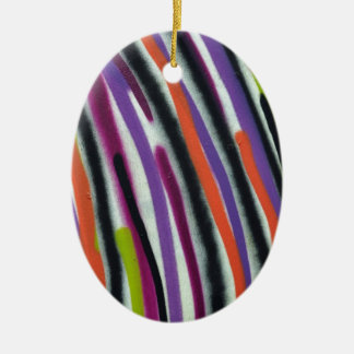 abstract lines background christmas ornament