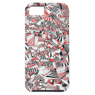 Abstract lines II iPhone 5 Covers