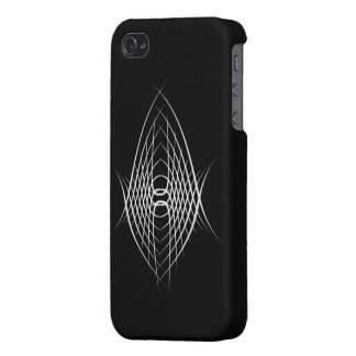 Abstract lines iPhone 4 cover