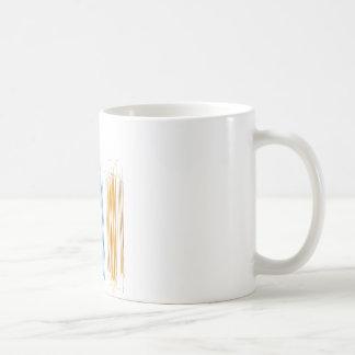 Abstract lines coffee mug