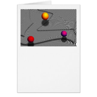 Abstract - Lines - That s a moire Greeting Card