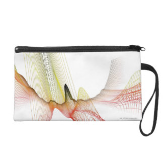 Abstract Lines Wristlet