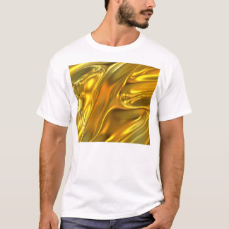 Abstract Liquid Gold T-Shirt