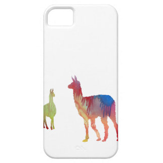 Abstract Llama silhouette Case For The iPhone 5