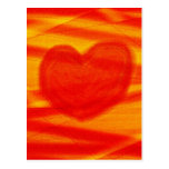 ABSTRACT LOVE POST CARD