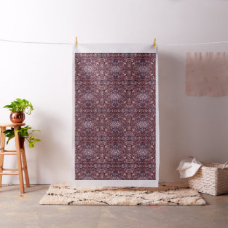 Abstract Magentas Fabric