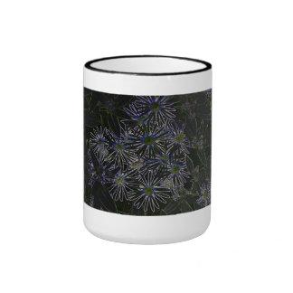 Abstract Magic Flower Mugs