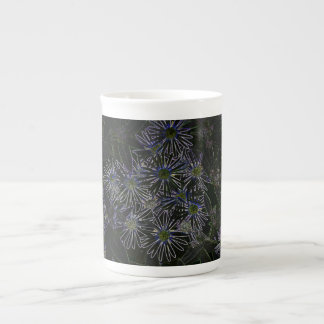Abstract Magic Flower Porcelain Mugs