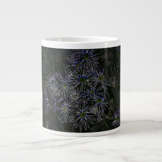Abstract Magic Flower Extra Large Mugs