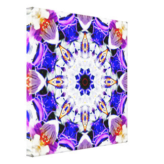 Abstract Mandala Canvas Print