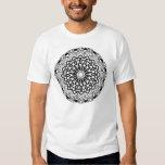 Abstract Mandala Design Tee Shirt
