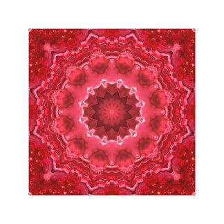 Abstract, mandala, kaleidoscope canvas print