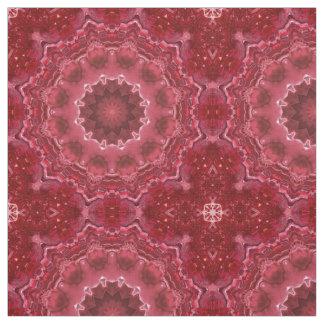 Abstract, mandala, kaleidoscope fabric