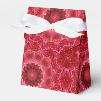 Abstract, mandala, kaleidoscope favour box