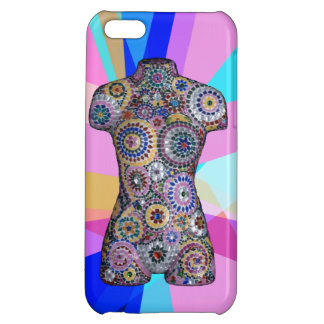 Abstract Mannequin iPhone 5c Case