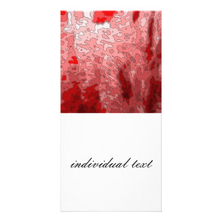 abstract maps,deep red photo cards