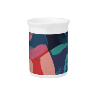 Abstract Marbled Pitcher