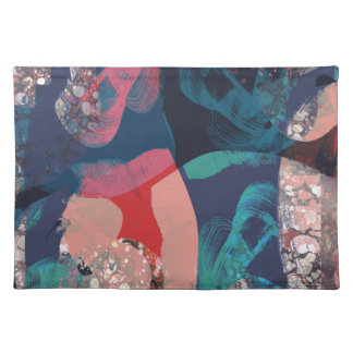Abstract Marbled Placemat