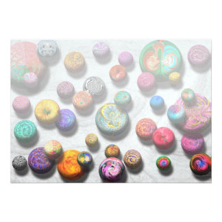 Abstract - Marbles Custom Invite