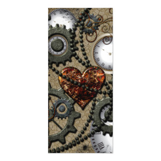Abstract mechanical design magnetic invitations