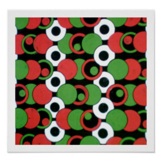 Abstract Meets Bauhaus Poster