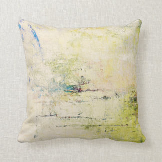 "Abstract ""Memories of the Falls"" Pillow"