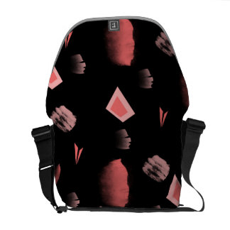 abstract messenger bags