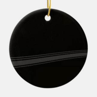 Abstract Metal Pattern Background Christmas Ornament