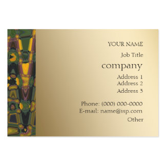 Abstract & Metallic Arty Business Profile Card Pack Of Chubby Business Cards