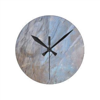 Abstract metallic background design wallclocks