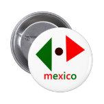 Abstract Mexico Button