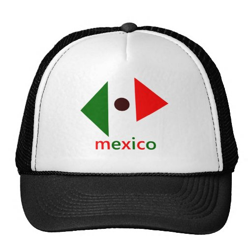 Abstract Mexico Mesh Hat