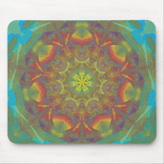 Abstract Mixed Media four Mouse Pad