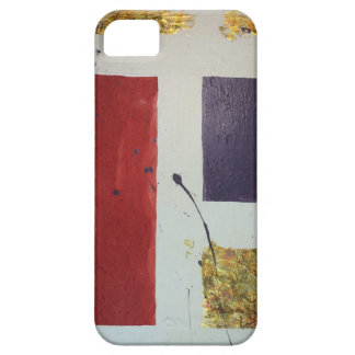 """Abstract Mixed Media Original """"Cosmetic"""" Case For The iPhone 5"""