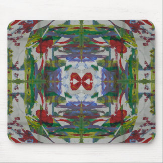 Abstract Mixed Media three Mouse Pads