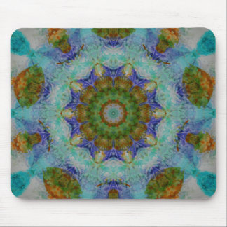 Abstract Mixed Media two Mouse Pad