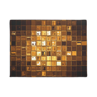 Abstract Modern Art Doormat