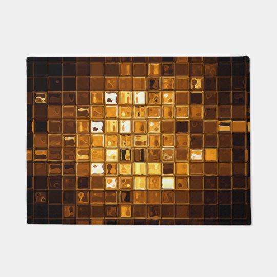 Abstract Modern Art Doormat