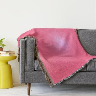 Abstract & Modern Geometric Designs - Dragon Fruit Throw Blanket