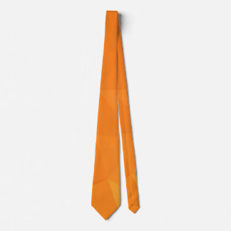 Abstract & Modern Geometric Designs - Ginger Spice Tie