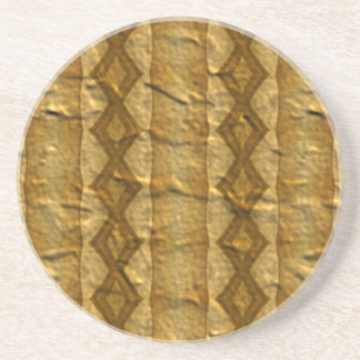 Abstract modern pattern coaster
